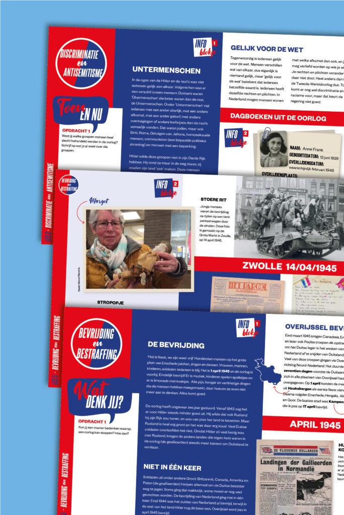 Lesmateriaal Tweede Wereldoorlog: Vette Teksten voor Expeditie Vrijheid